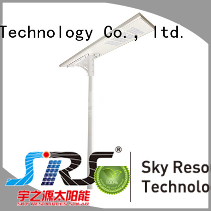 smart remote control stand alone solar street light 20w on sale for public lighting