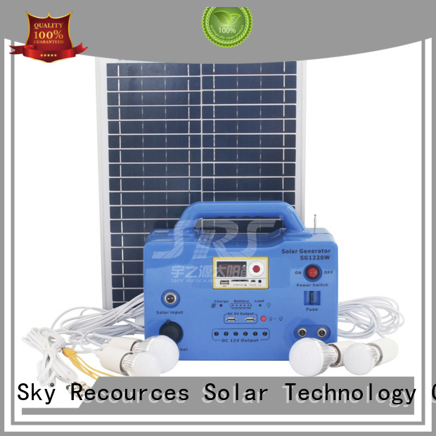 SRS quality panel solar system factory for house