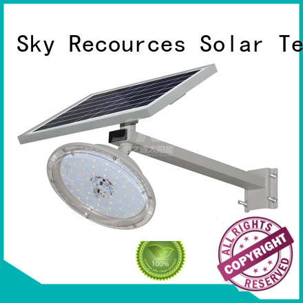 fix solar street light set price list for flagpole