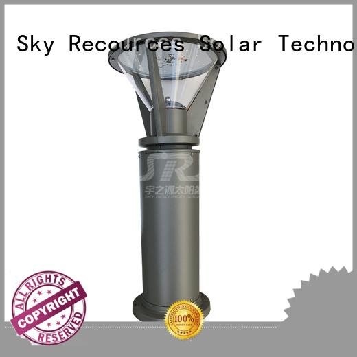 SRS solar led lawn lights details for umbrella