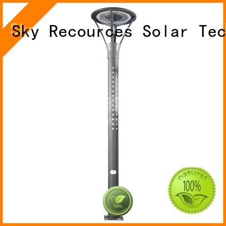 SRS smart quality solar garden lights online service for posts