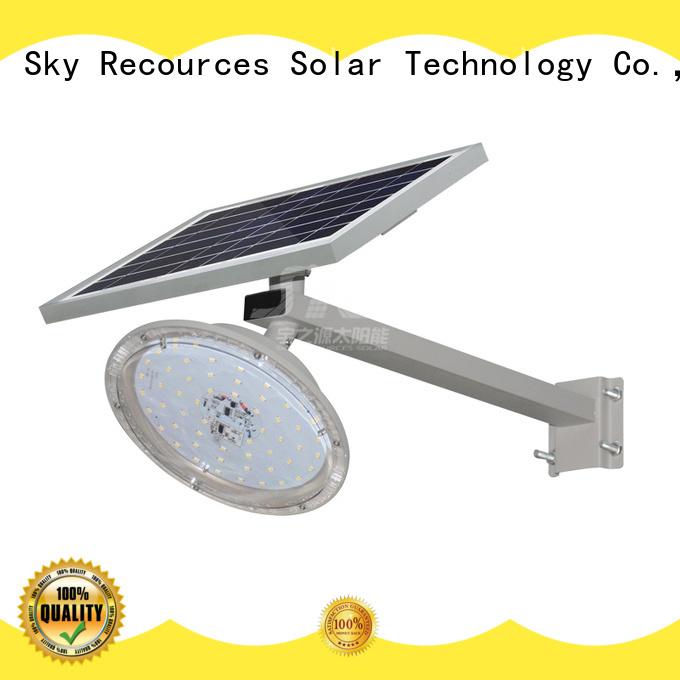 SRS install best solar led street light price list for garden
