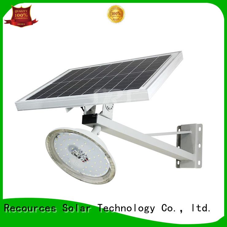 SRS integrated solar led street light configuration for flagpole