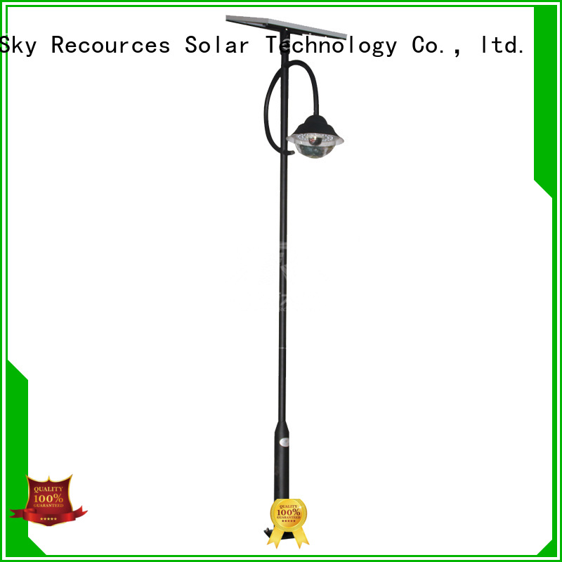 SRS national black solar garden lights export for trees