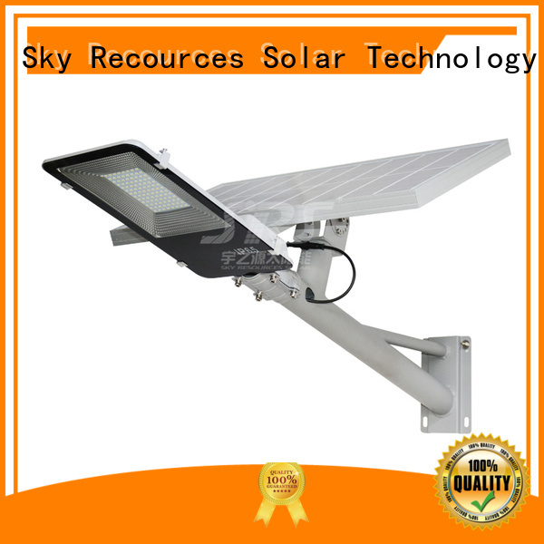 SRS bifacial wholesale solar led street light price list for flagpole