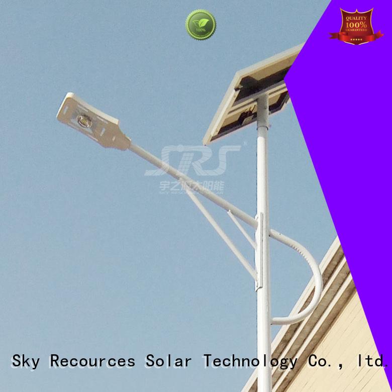 SRS buy luminous solar street light manufaturer for outside