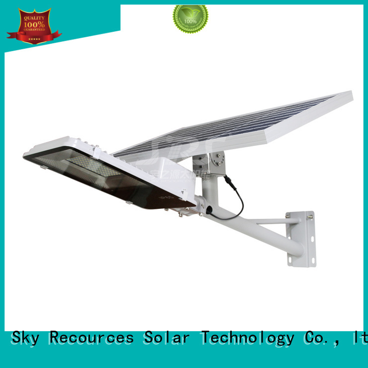 fix solar powered road lights with battery for flagpole