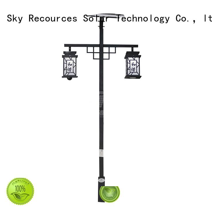 SRS national solar light for garden landscape export for posts