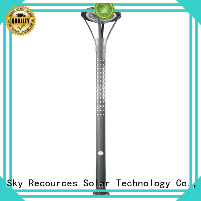 solar panel garden lights make in China for trees SRS