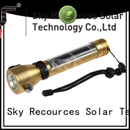SolarLite rechargeable led flashlight LONG LASTING!!