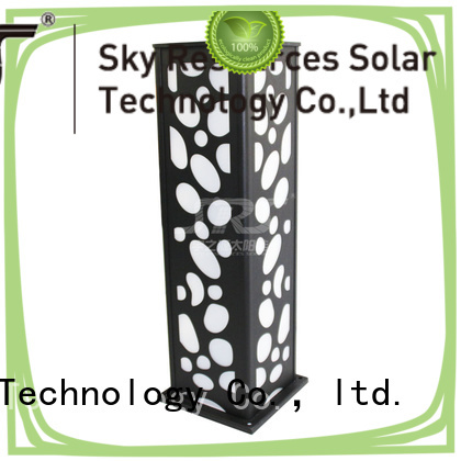 SRS outdoor solar lawn lights system for trees
