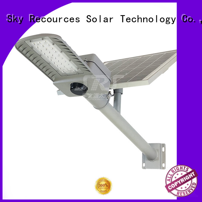 SRS waterproof solar powered road lights price list for fence post