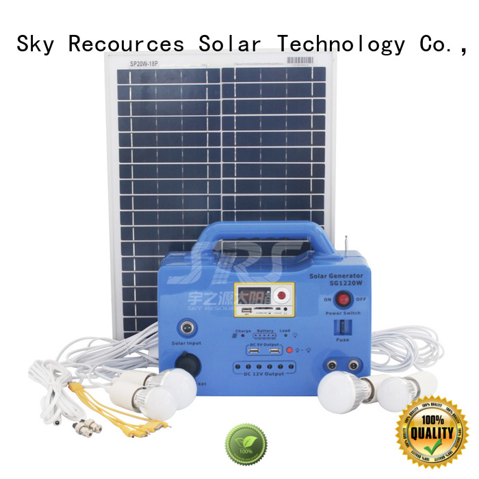 SRS quality solar generator for home factory for house