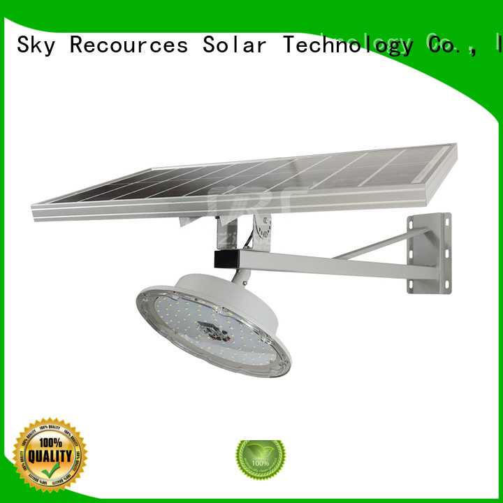 SRS solar street light with panel and battery price list for flagpole