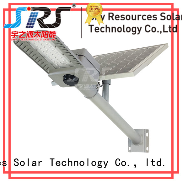 SRS semi-integrated solar street light specification for flagpole