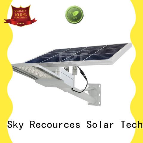 SRS bifacial solar powered road lights price list for school