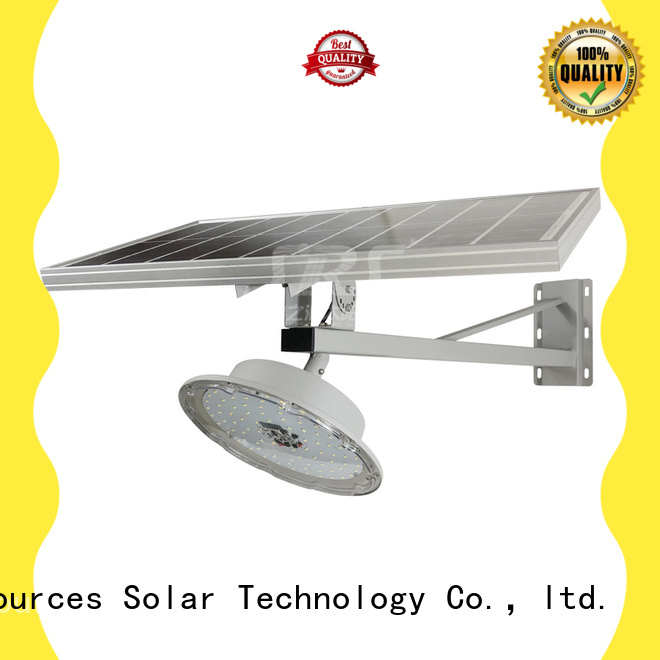 SRS decorative solar street lights with battery for fence post