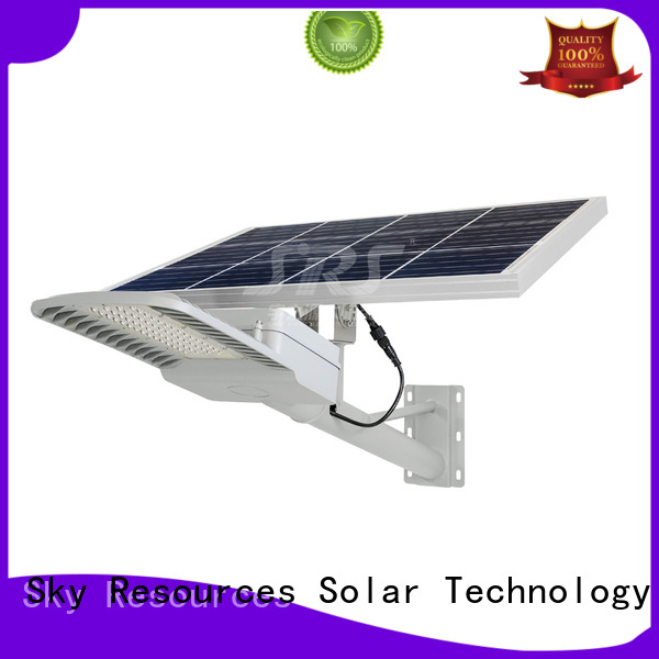 SRS ip65 decorative solar street lights configuration for flagpole