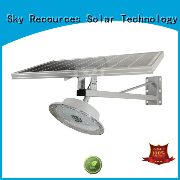 bifacial decorative solar street lights radar configuration for garden