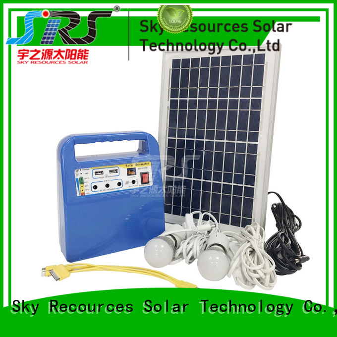 SRS solar power system installation project for school