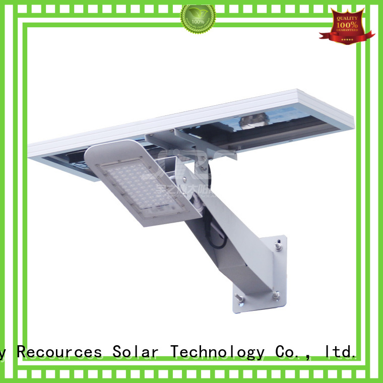 SRS remote portable solar parking lot lights with battery for fence post