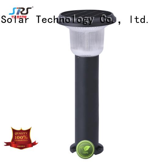 custom solar grass lights system for posts