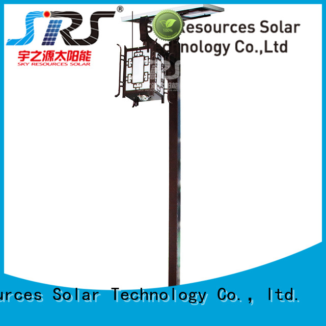 SRS modern garden lamp post lights uses for posts