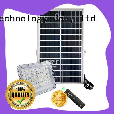 SRS best solar motion flood light certification for village