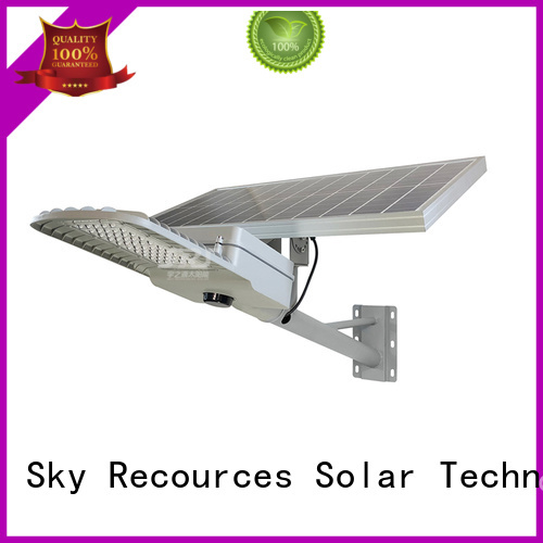 SRS solar road light with battery for school