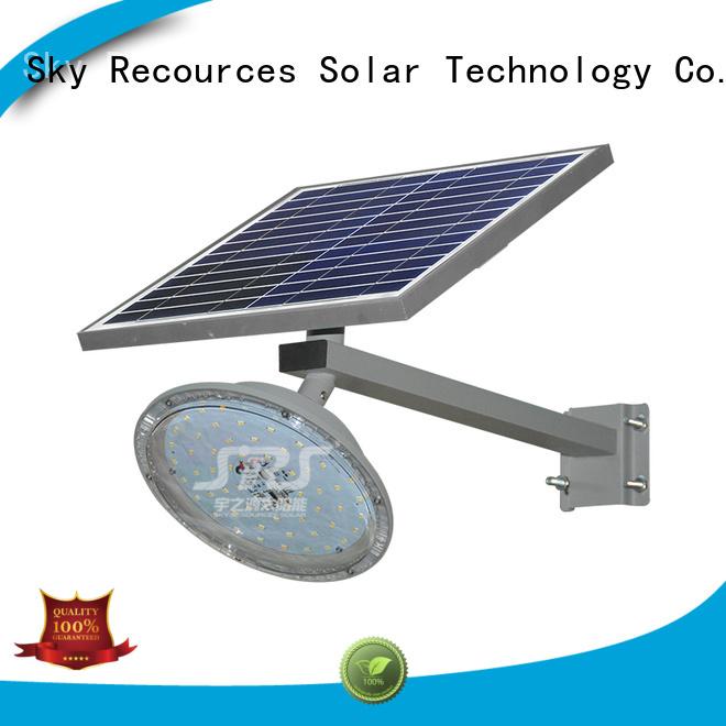 SRS best solar led street light price list for garden