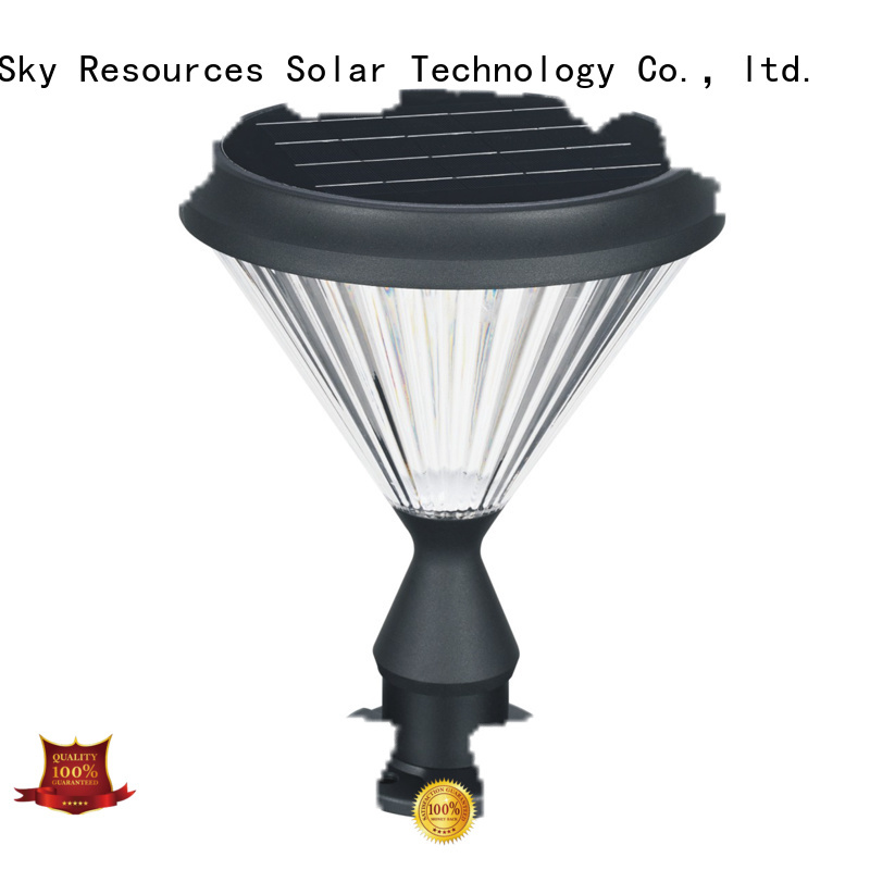 SRS Wholesale post top solar lights suppliers for school