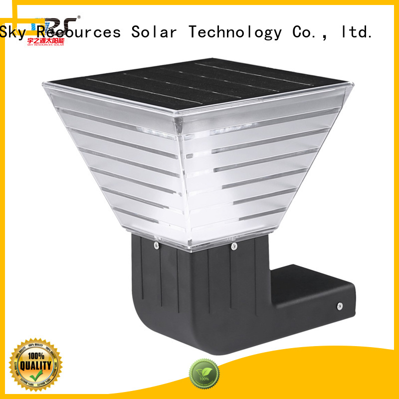 SRS integrated lawn and garden solar lights manufaturer for patio