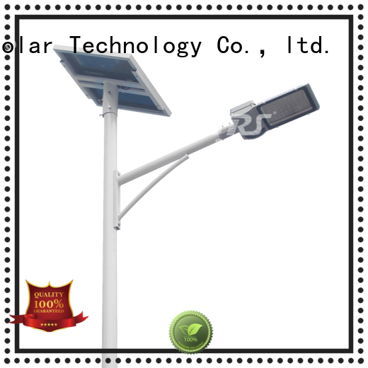 SRS waterproof solar road light specification for fence post