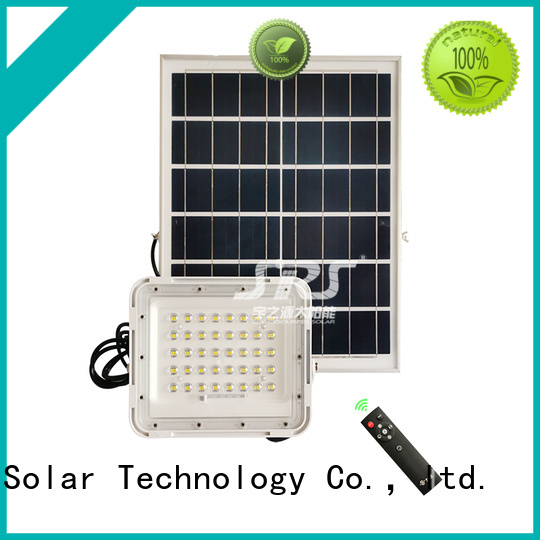 integrated commercial solar powered flood lights certification for village