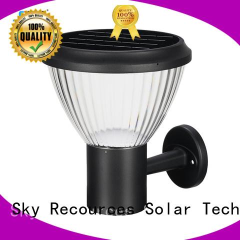 SRS solar powered outdoor garden lights manufaturer for pathway