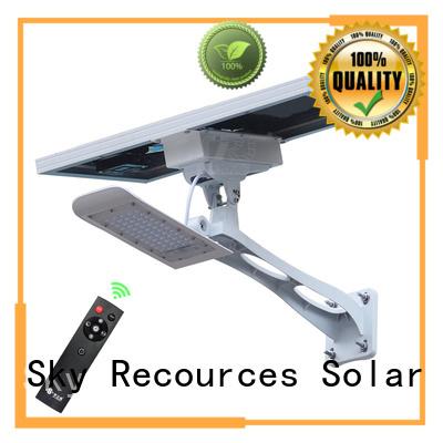 SRS fix solar led lights manufacturers diagram for garden