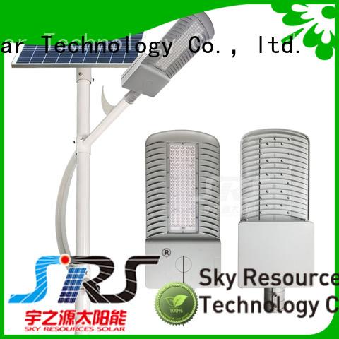 SRS solar street light maintenance supply for shed