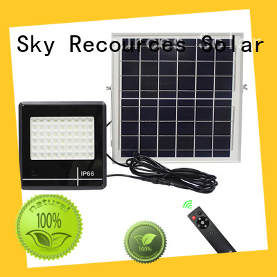 SRS commercial solar powered flood lights certification‎ for outside