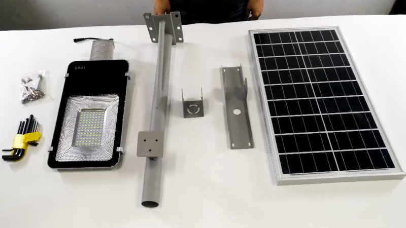 YZY-LL-407,409,410 Solar Street Light Installation