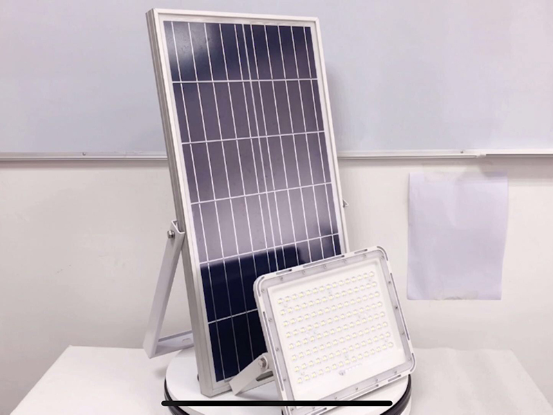 Custom Solar Flood Light Video YZY-LL-117