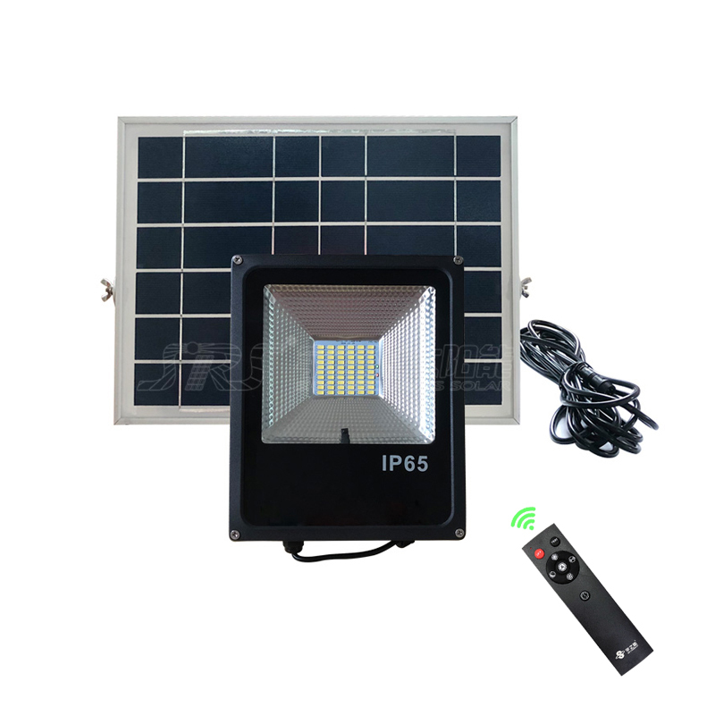 Custom Ourdoor Solar Led Flood Lights With Remote Control 60W YZY-LL-104 Supplier