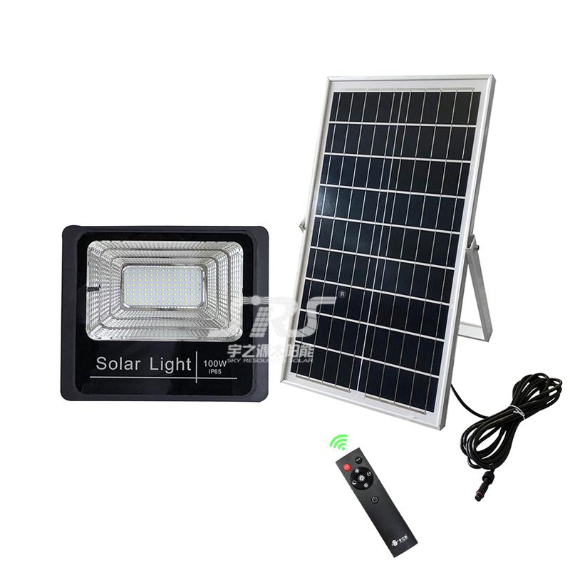Wholesale Solar Led Flood Light Outdoor High Powered IP65 100 Watt YZY-LL-106