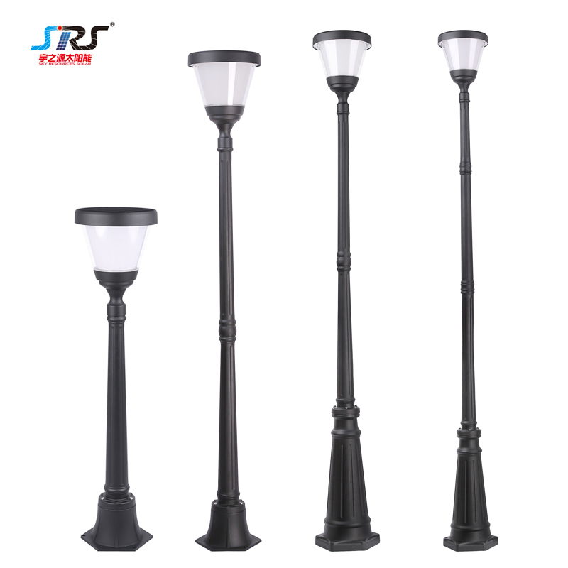 Solar Garden Lamp Post Lights Morden Outdoor Waterproof YZY-TY-085-4105