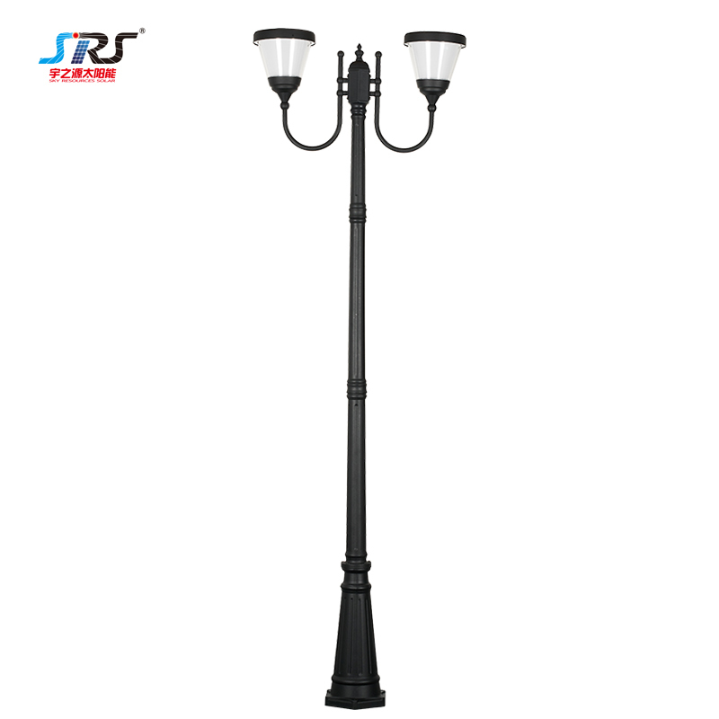 Solar Garden Lamp Post Lights Morden Outdoor Waterproof YZY-TY-085-4105