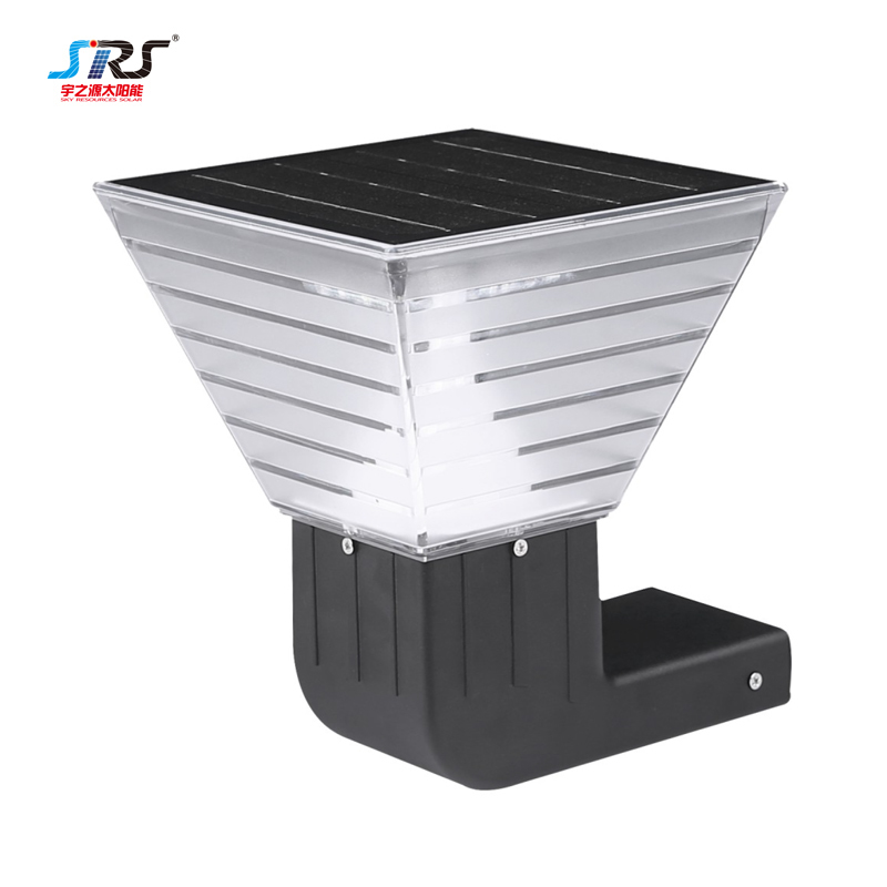 Custom Wholesale Modern Solar Outside Security Wall Lights YZY-CP-086-6001-B