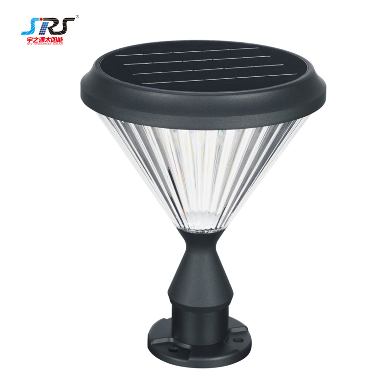 Wholesale Solar Pillar Lantern Outdoor Wall Lights YZY-CP-5405-Z