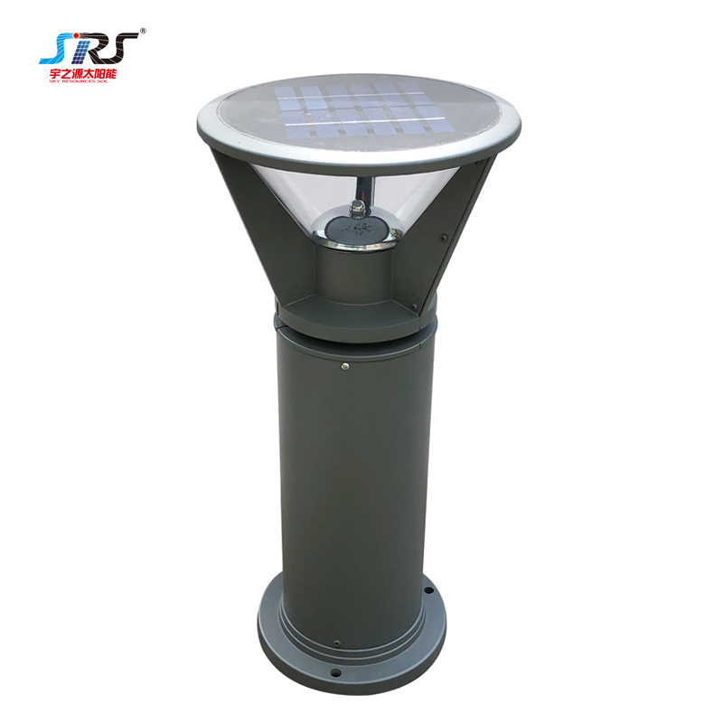 Custom Aluminum Solar Lawn Light For Outdoor Park Garden YZY-CP-010