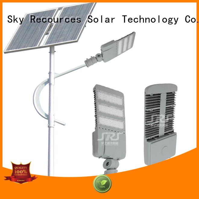 SRS custom cheap solar street light factory for shed
