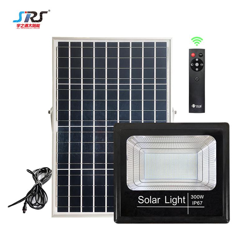 Wholesale Solar Powered Led Flood Light 100W 200W 300W YZY-TY-111/112/113