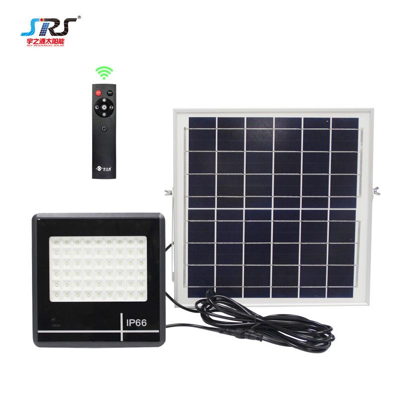 Custom Best Outdoor Solar Flood Light Fixtures with Motion Sensor 54W YZY-LL-105